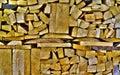 Closeup detail of wood macro texture background Stock Image