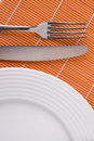 Closeup of dishware Stock Photography