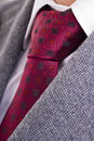 Closeup formal business attire necktie shirt jacket Royalty Free Stock Photos
