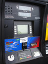 Closeup of Gas Pump Stock Images