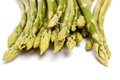 Closeup of green asparagus Stock Photo