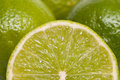 Closeup of a green lime Royalty Free Stock Photos