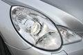 Closeup headlights of car close up photo Royalty Free Stock Photos