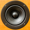 Closeup of loudspeaker home theater Stock Image