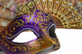 Closeup of mask from Venice Royalty Free Stock Image