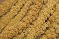Closeup mature millet ,bird food Royalty Free Stock Photo