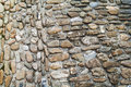 Closeup of old cobblestone road in Aigle, Switzerland Royalty Free Stock Photo