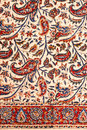 Closeup Of Persian Carpet