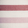Closeup of pink violet white striped textile as background or texture horizontal fabric pattern macro Royalty Free Stock Image