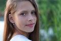 Closeup Portrait of a beautiful girl Royalty Free Stock Photo