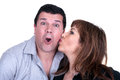 Closeup portrait of a happy mature couple Royalty Free Stock Photography