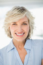 Closeup portrait of a smiling businesswoman Royalty Free Stock Photos