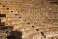 Closeup of ruin of Antique Roman Theatre Royalty Free Stock Photo