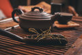 Closeup set of China tea Royalty Free Stock Photo