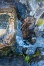 Water Over Rocks Royalty Free Stock Photo