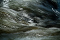 Closeup shot of water movement from a river strong current Stock Image