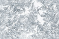 Closeup of snow or ice crystals Royalty Free Stock Photo