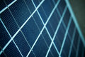 Closeup of solar panel Royalty Free Stock Image