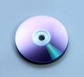 Closeup stack of few compact discs cd cd dvd Stock Photo