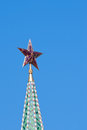 Star on the Moscow Kremlin tower Royalty Free Stock Photo