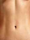 Closeup stomach Stock Images