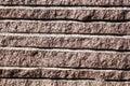Closeup of surface reddish granite block Royalty Free Stock Image