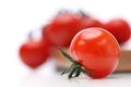 Closeup of a tomato Royalty Free Stock Photo
