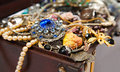 Closeup of Treasure chest Stock Photography