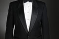 Closeup of a Tuxedo Royalty Free Stock Photo