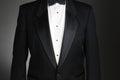Closeup of a Tuxedo