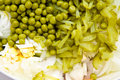 Closeup of unmixed salad Stock Photo