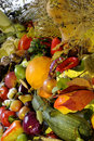 Closeup with vegetables Stock Image