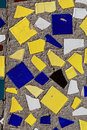Closeup view of an abstract mosaic. Stock Photography