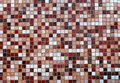 Closeup view of an abstract mosaic. Royalty Free Stock Photo