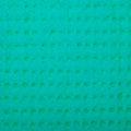 Closeup vivid turquoise sponge background texture pattern of as macro square format Stock Photos