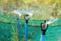 Closeup Of Water Sprinkler, Ir...