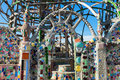 Closeup of Watts Towers, South Los Angeles Royalty Free Stock Photo