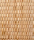 Closeup of Wicker texture Royalty Free Stock Photography