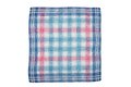 Cloth with checks colorful and crisp image of Stock Images