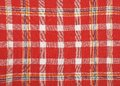 Cloth with checks colorful and crisp image of Royalty Free Stock Photos