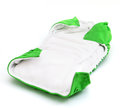 Cloth diaper isolated on a white background Stock Image