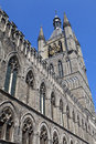 Cloth Hall in Ypres, Belgium Stock Photo