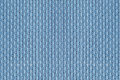 Cloth used for cross stich and embroidery blue Royalty Free Stock Photo