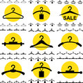 Clothes Hanger Icon for Fashion or Sale Design Isolated