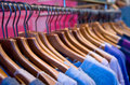 Clothes Rail Royalty Free Stock Images