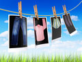Clothes to dry Royalty Free Stock Photo