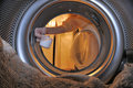 Clothes Washer Interior Royalty Free Stock Photography