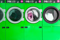 Clothes washers Stock Images
