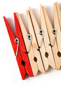 Clothespin Royalty Free Stock Photography