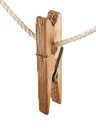 Clothespin on the line Royalty Free Stock Photo